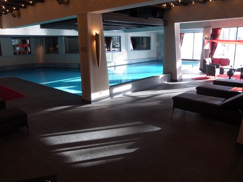 Gstaad, Palace, piscine