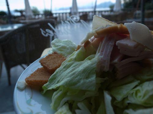 Palerme, Igiea, caesar salad