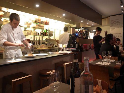 Paris, Caffé del copei, salle